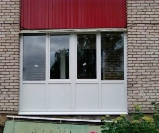 Балконная рама из ПВХ. Минск. №12