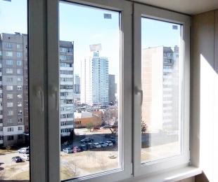 Балконная рама из ПВХ. Минск. №1