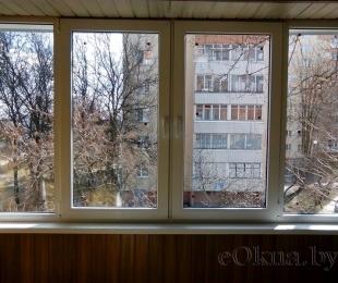Балконная рама из ПВХ. Минск. №9