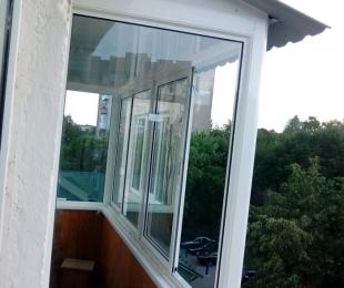 Балконная рама из алюминия. Минск. №5