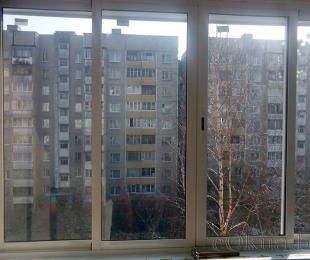 Балконная рама из алюминия. Минск. №2